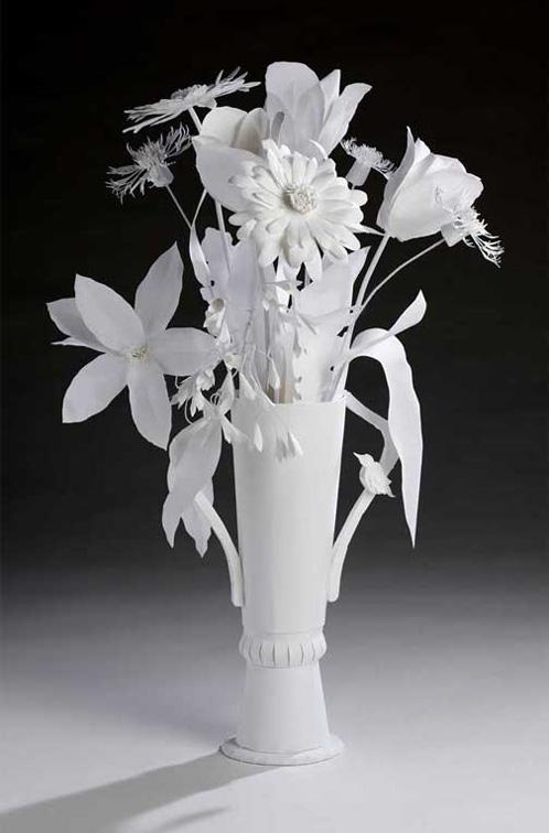 Paper art art of my garden paper sculpture mightylinksfo